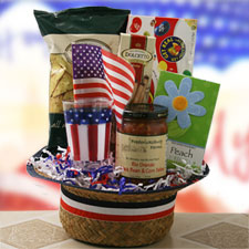 We Salute You - 4th of July Gift Basket