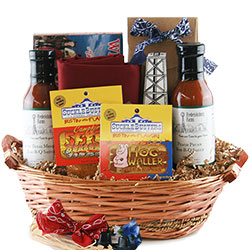 Where Theres Smoke, Theres Fire Grilling & BBQ Gift Baskets