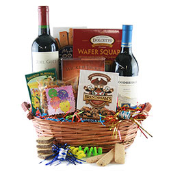 Wine Splendor - Wine Gift Basket