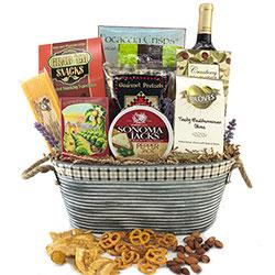 Wine Treasures - WIne Gift Basket