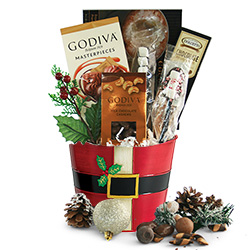 Winter Wishes - Christmas Gift Basket