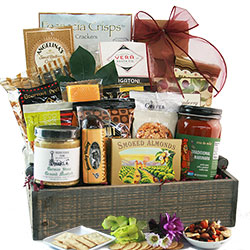 With Sympathy - Sympathy Gift Basket