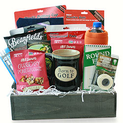 World of Golf - Golf Gift Basket