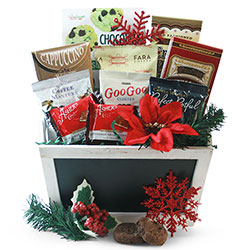 Christmas Coffee Classic - Christmas Gift Basket