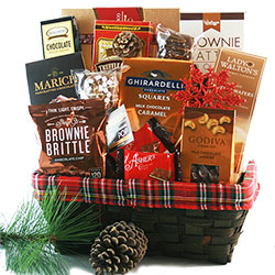 Christmas Chocolate Sensation Gift Basket