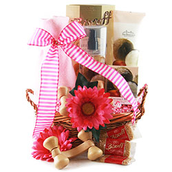 You're the Best! - Spa Day Gift Basket