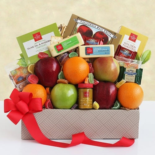 California Fruit & Cheese Box