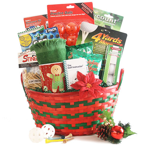 18 Ho Ho Holes Christmas Gift Basket