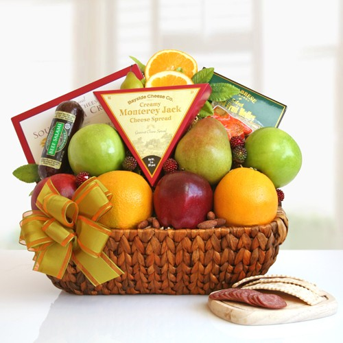 Fruit Abounds Fruit Gift Basket