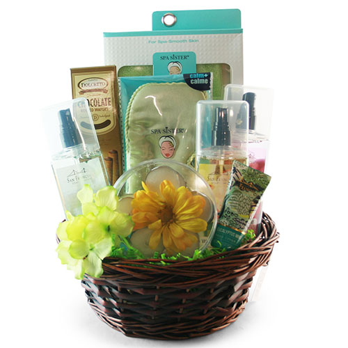 Unwind Spa Basket