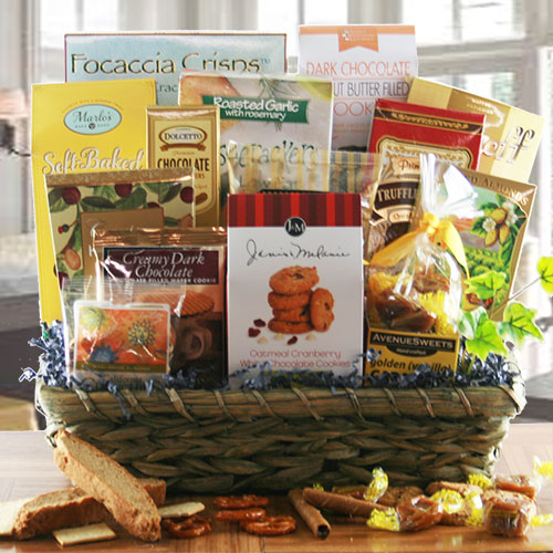 The Lavish Gourmet Gourmet Gift Basket