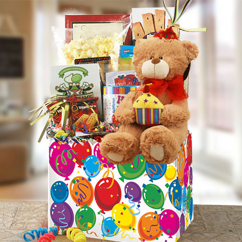Birthday Suprise Birthday Gift Basket