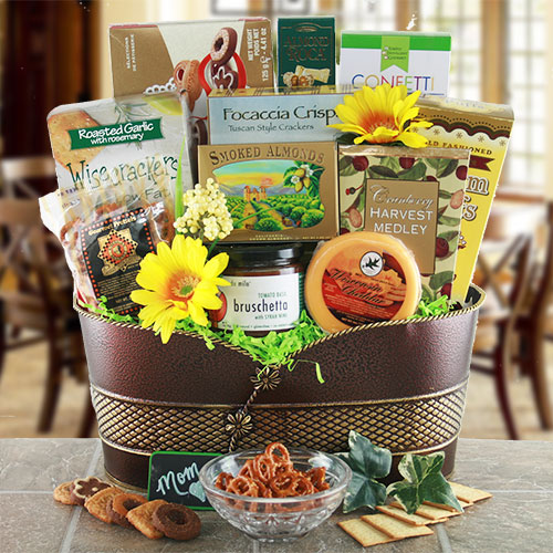 Foodie Mom Mothers Day Gift Basket