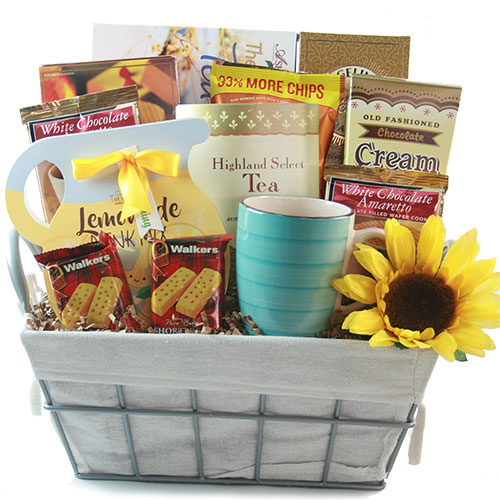 Afternoon Revival Tea Gift Basket  sc 1 st  Design It Yourself Gift Baskets & Tea Gift Baskets: Afternoon Revival Tea Gift Basket | DIYGB