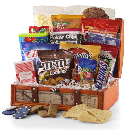 Ante Up Poker Gift Basket