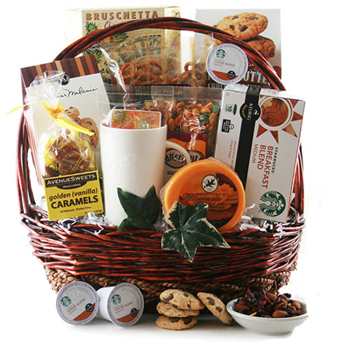 The Art of Starbucks K Cup Gift Basket