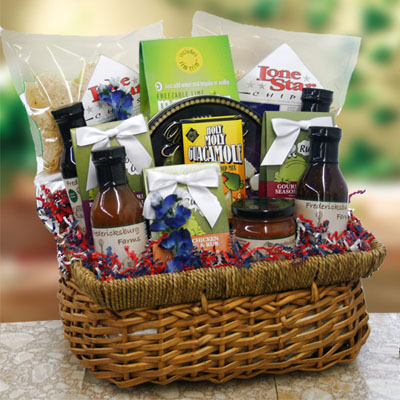 Backyard BBQ Grilling Gift Basket