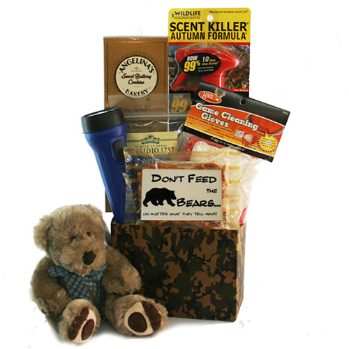 Dont Feed the Bears Hunting Gift Basket