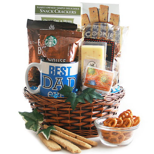 Best Dad Ever Fathers Day Gift Basket