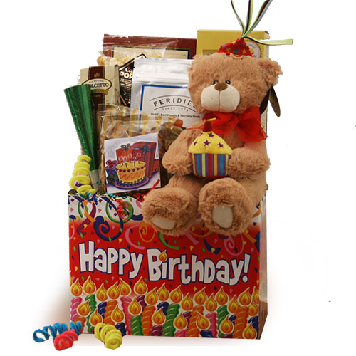 Birthday Gift Basket Surprise Birthday Gift Basket