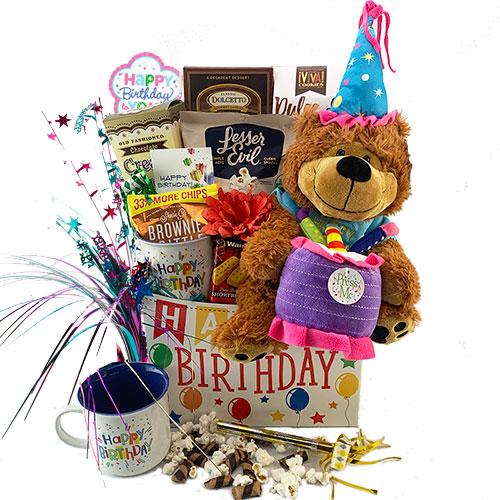 Birthday Seranade Birthday Gift Basket