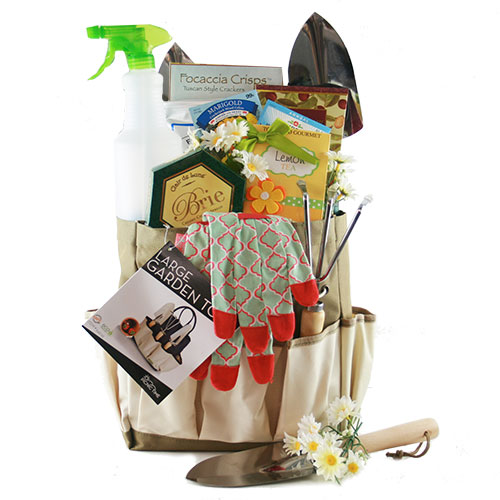 Wonderful Bless My Bloomers Gardening Gift Basket