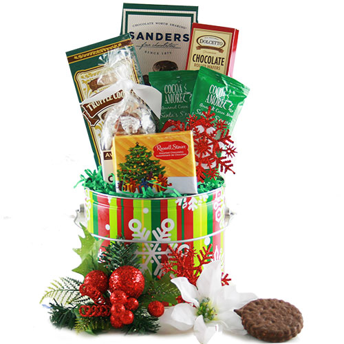 Blissful Sweets Christmas Gift Basket