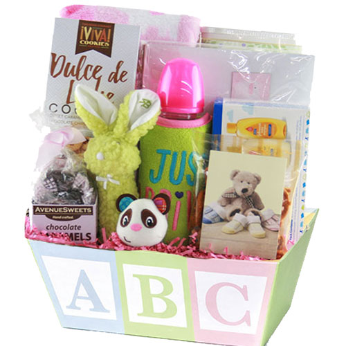 Med Baby Gift Basket BLOCK