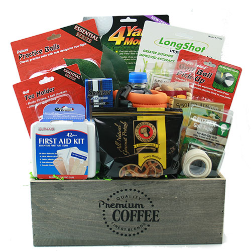 Born to Golf Golf Gift Basket