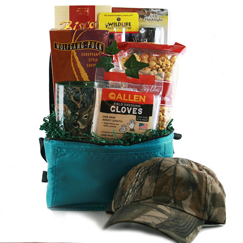 Hunter Survival Kit Hunting Gift Basket