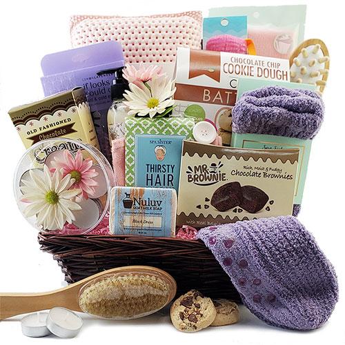 Boss Lady Spa Gift Basket