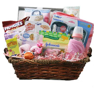 Lg Baby Gift Basket BP1001