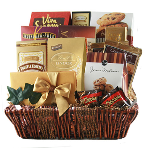 Lg Chocolate Gift Basket BP1001