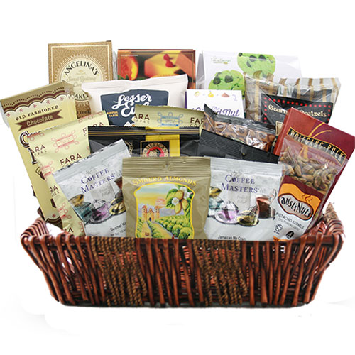 Lg Coffee Gift Basket BP1001