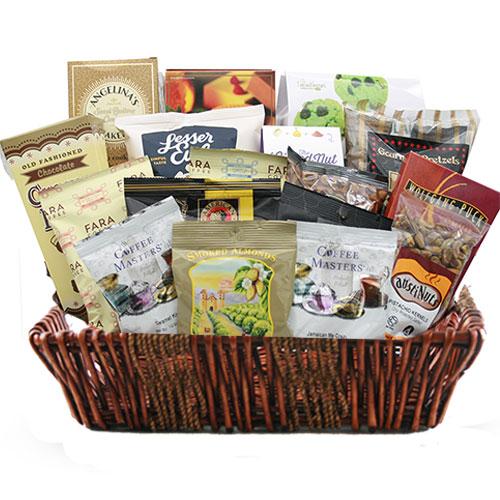 Lg Coffee Gift Basket BP1001