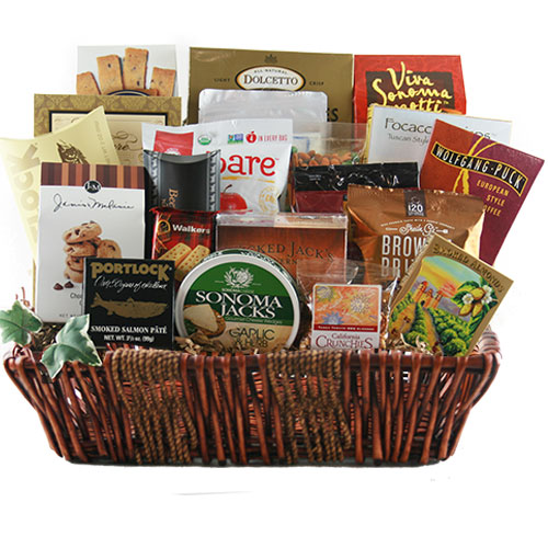Lg Gourmet Gift Basket BP1001