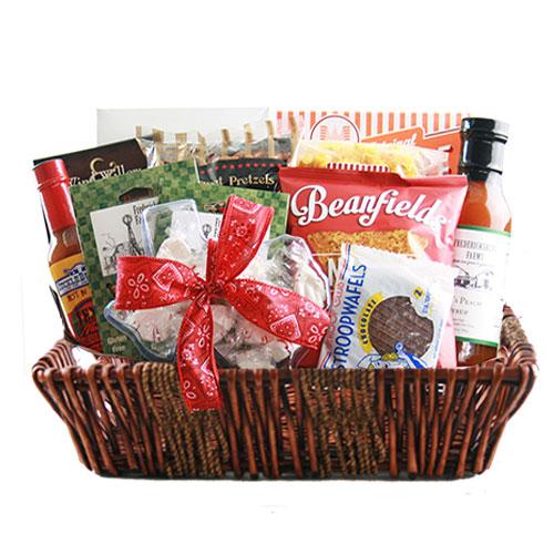 Lg Texas Gift Basket BP1001