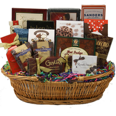 Lg Chocolate Gift Basket BP1002