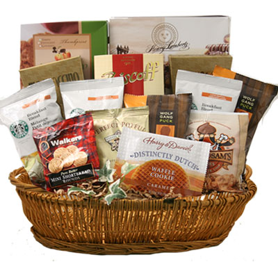 Lg Coffee Gift Basket BP1002