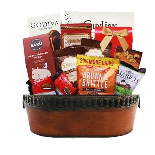 Med Chocolate Gift Basket BP1002