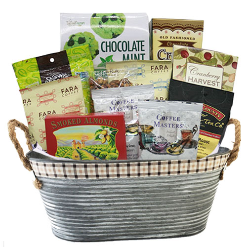 Med Coffee Gift Basket BP1002
