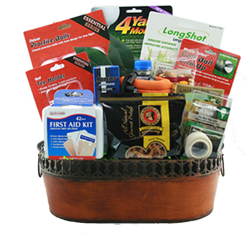 Med Golf Gift Basket BP1002