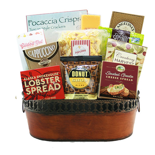 Med Gourmet Gift Basket BP1002