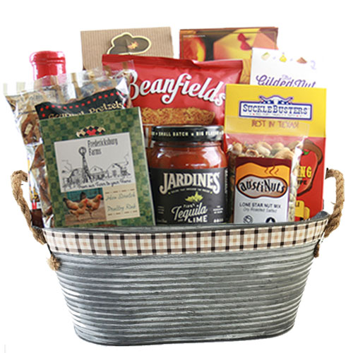 Med Texas Gift Basket BP1002