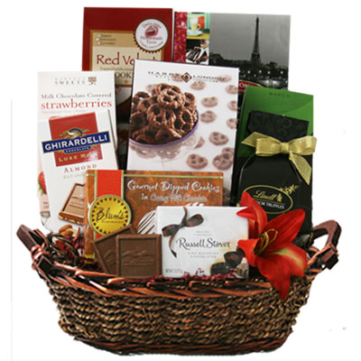 Med Chocolate Gift Basket BP1003