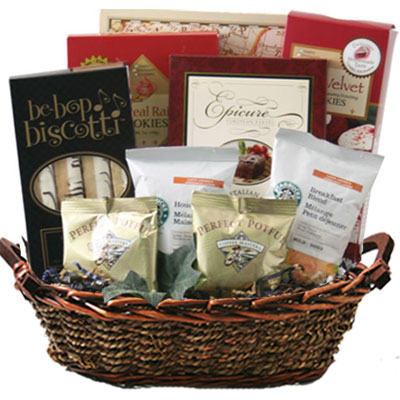 Med Coffee Gift Basket BP1003