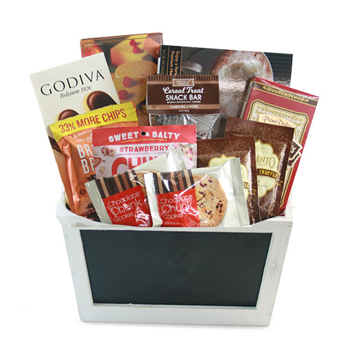 Sm Chocolate Gift Basket BP1004