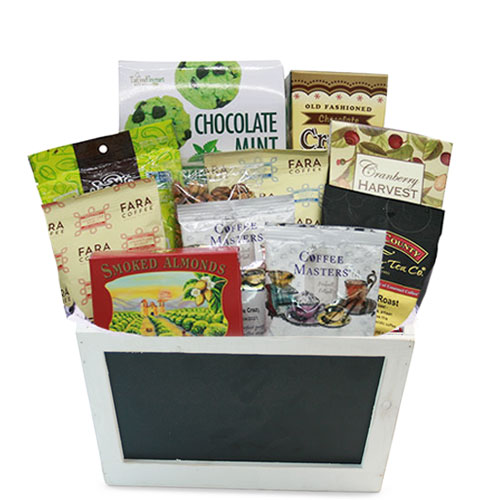 Sm Coffee Gift Basket BP1004