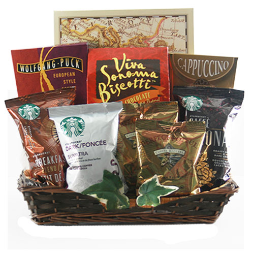 Med Coffee Gift Basket BP1005