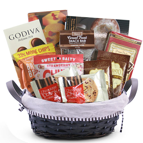 Sm Chocolate Gift Basket BP1005